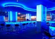 DiseÑo e iluminacion led, restaurantes, discotecas