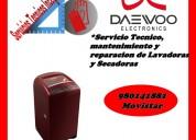 980141881 secadoras lavadoras daewoo mantenimiento