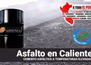 Calidad de mezcla asfaltica o asfalto en caliente