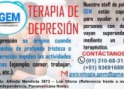 Terapia de depresiÓn - centro psicolÓgico gem