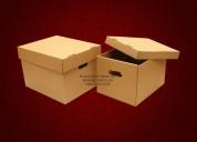Cajas para archivo de documentos en carton corrugado