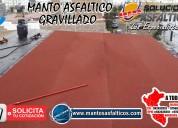 Importadores de membrana asfaltica  gravillado