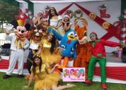 Burbuja eventos show navideño show de navidad