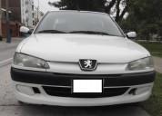 Vendo peugeot 306 sedan  1998 motor nuevo
