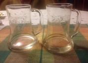 02 vasos cerveceros tipo chopp marca extranjera