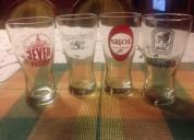 04 vasos cerveceros tipo de mesa marcas extranjera
