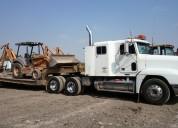 Transporte de  carga pesda a nivel nacional