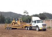 Servicios de transporte de maquinarias y equipos