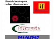 941463940 cocina vitroceramica klimatic lima