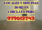 Alquilo local comercial de 30m2 en chiclayo peru