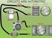 Recarga de aire acondicionado para vehiculos