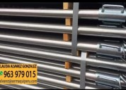 Venta de puntales metálicos galvanizados