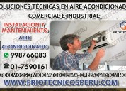 »mantenimiento reparacion aire acondicionado»«san