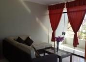 Alquiler departamento amoblado en piura urb miraflores 2 dormitorios