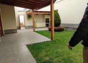 alquiler de casa en condominio sol de la molina 5 dormitorios