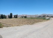 Terreno agricola a excelente precio se vende como lote completo de 27 000 m2 arequipa en arequipa