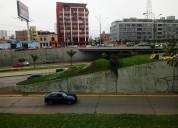 Terreno comercial en la av iquitos la vistoria frente a la via expresa en lima
