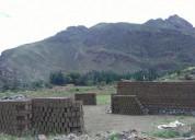 Vendo terrenos en el valle sagrado en calca