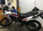 motocicleta honda xre 300 2017 en lima