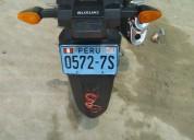 moto suzuki gixxer en piura