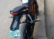 Remato moto lineal ktm duke 2013 en chachapoyas