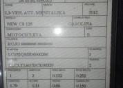 motocicleta italika en venta en chiclayo