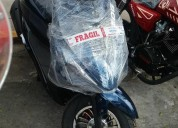 Vendo moto scooter wanxin 150 nueva en trujillo