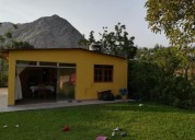 alquiler de casa en lunahuana san geronimo 3 dormitorios