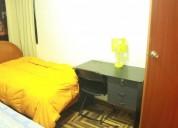 habitaciones amobladas en departamento compartido en cusco
