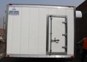 Excelente furgon refrigerado en coronel portillo