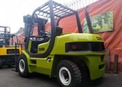 Excelente montacargas diesel 3tn 4tn 5tn c nuevos