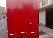 Se vende remolque food truck y auto hyundai en lima