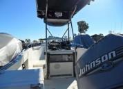 Lancha rapida 21 pies motor 180 pesca deportiva