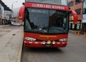 Bus interprovincial de dos pisos en callao, contactarse.
