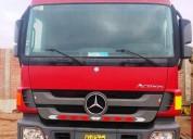 Camion tracto mercedes benz actros 2011 2011 en lima