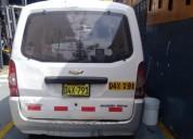 Vendo camioneta chevrolet ano 2012 en lima