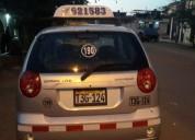 Vendo taxi 2014 chevrolet spart ls en trujillo