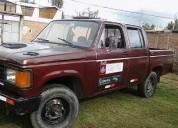camioneta chevrolet doble cabina color rojo almagro en huancayo