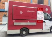 Peogeot camion sanguchero equipada lista para full negocio en lima