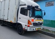 Vendo camion hino 1018 ano 2016 en huancayo