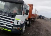 Camion semitrailer scania del 2007 con carreta del en arequipa