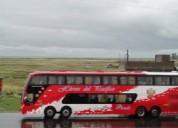 Scania 8x2 busscar en tacna