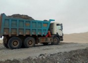 Camion volquete de segunda oferta scania en chincha