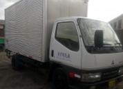 Vendo furgon canter mitsubishi ano 98