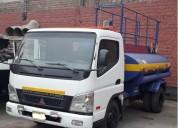 Vendo camion cisterna mitsubishi fuso canter en lima