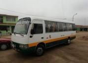 Mitsubishi bus minibus coaster custer en chincha