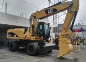 Excavadora movil cat importado, contactarse.