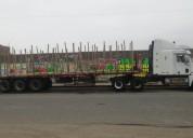 Vendo semitrailer freightliner del ano 2007 en trujillo