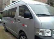Alquiler toyota hiace 2017 combi minivan nuevo en lima