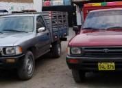 Camioneta toyota hilux con baranda en trujillo